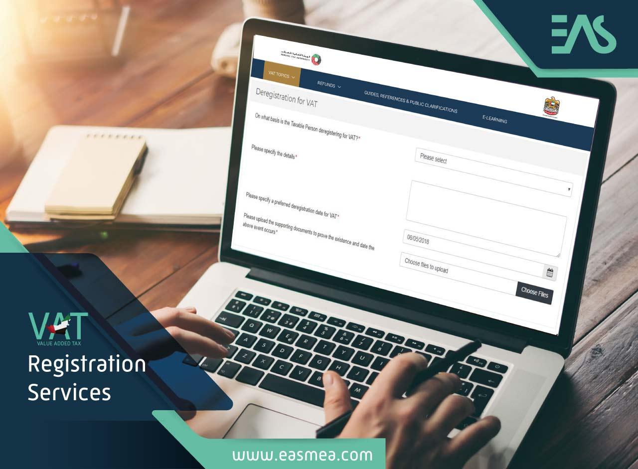 Vat De-Registration In Dubai Uae